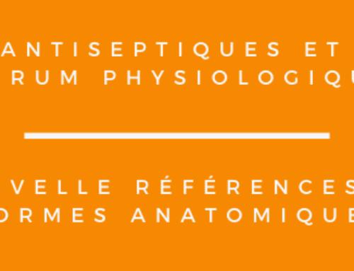 Nouvelle références de formes anatomiques