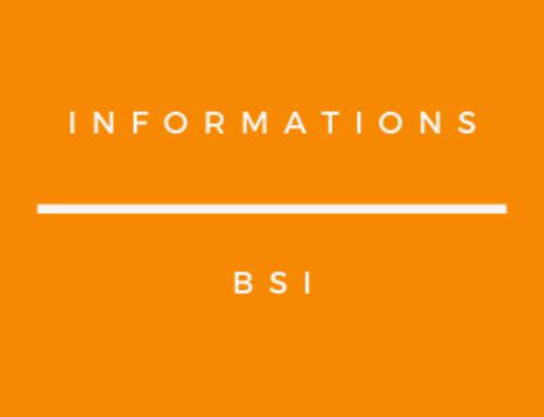 Dispositif BSI 2021