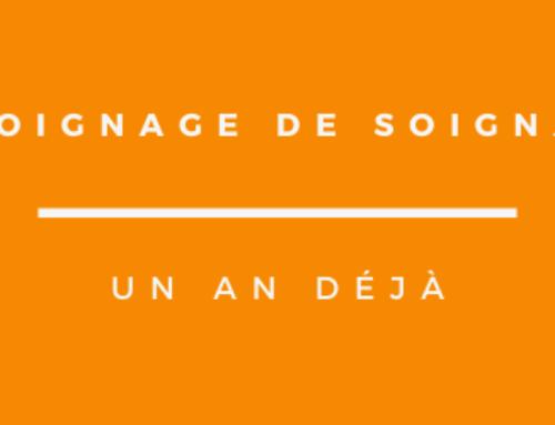 TEMOIGNAGE DE SOIGNANT
