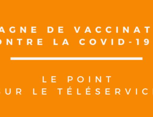 La campagne de vaccination contre la Covid-19 : le point sur le téléservice