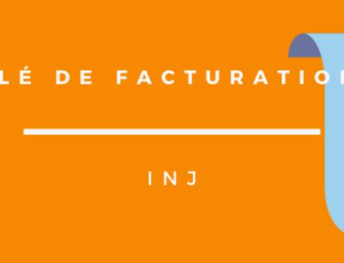 CLÉ DE FACTURATION « INJ »
