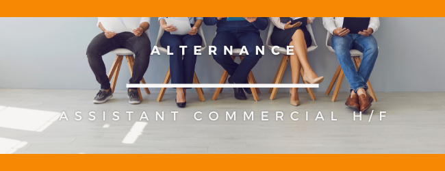 Assistant commercial H/F en Alternance